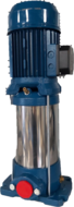 verticale meerwaaier pomp 1.5kw-400v